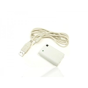 Third Party - Play charge kit UnderControl XBOX360 Blanc - 3700372700559