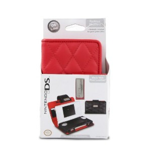 Nintendo DS Lite Quilted Play-thru - Red (輸入版)