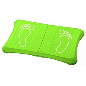 Nintendo Wii Fit Skin - Green / White Feet (輸入版)