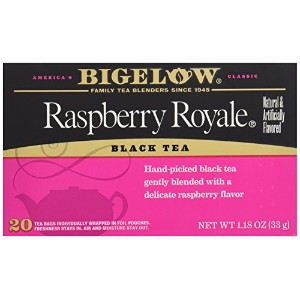 Bigelow, Black Tea, Raspberry Royale, 20 Tea Bags, 1.18 oz (33 g)