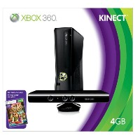 Xbox 360 4GB Console with Kinect(US Version imported by uShopMall U.S.A.)