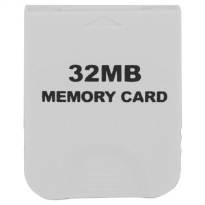 eForBuddy 32MB Memory Card for Nintendo Wii  任天堂 Wii 用32MB メモリーカード ホワイト