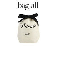Bag-all (バックオール)ニューヨーク発 コットンPrivate Stuff Organizing bags