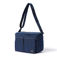 (ヘッド・ポーター) HEADPORTER INDIGO SHOULDER BAG (L) INDIGO