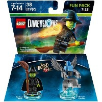 LEGO Dimensions Fun Pack The Wizard of Oz Wicked Witch レゴ Dimensions ファンパックオズ邪悪な魔女のウィザード [並行輸入品]