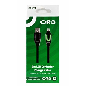 ORB 3m LED Controller Charge and Play Cable (輸入版)