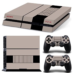 FriendlyTomato PS4専用 Skin プレイステーション4用スキンシール - Original Retro Console - PlayStation 4 Vinyl