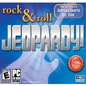Jeopardy - Rock and Roll Quiz (PC CD) (輸入版)