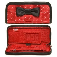 Harveys Minnie Mouse Clutch Wallet by Disney Couture /ハーベイス・ミニーマウス・クラッチ・ウォレット (ディズニー・クチュール) 【平行輸入品】