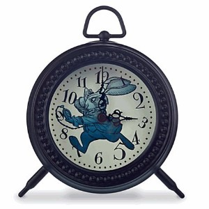 Disney(ディズニー) Alice Through the Looking Glass Desk Clock アリス 時計 [並行輸入品]