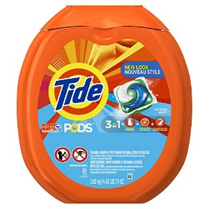 Tide PODS Ocean Mist HE Turbo Laundry Detergent Pacs 81-load Tub by Tide