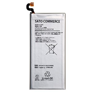 Sato Commerce Galaxy S6 EB-BG920ABE 互換バッテリー 3.85V 2500mAh