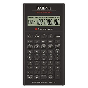 Texas Instruments BA II Plus Professional Financial Calculator [並行輸入品]