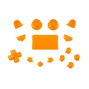 Sony PS4 Playstation 4 Full Button Set - Orange
