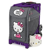 ZUCA SPORT Hello Kitty Leopard & Purple Frame