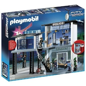 Playmobil 5182 City Action Police Station with Alarm System [並行輸入品]