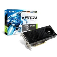 MSI n670gtx-pm2d2gd5 / OC GeForce GTX 670 2 GB 256ビットgddr5 PCI Express 3.0 x16 HDCP Ready SLIサポートビデオ...