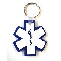 Star of Life キーリング