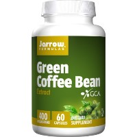 海外直送品Jarrow Formulas Green Coffee Bean Extract, 60 vcaps 400 mg