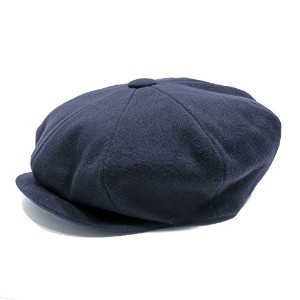 James Lock & Co. Hatters ウール キャスケット (Sandwich) Navy 61