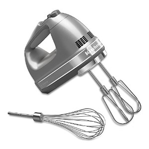 Kitchenaid 7 Speed Silver Hand Mixer【並行輸入】