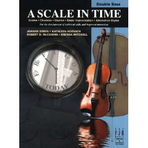 A Scale In Time - Double Bass / スケール・イン・タイム - コントラバス