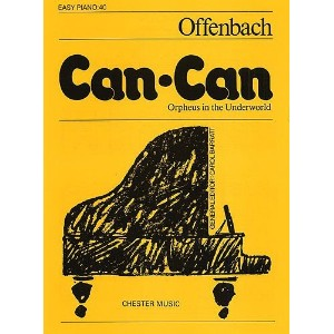 Can-Can (Easy Piano No.40). Partitions pour Piano Solo