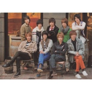 クリアファイル Hey!Say!JUMP 「New Year Concert 2012」