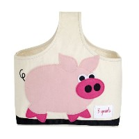 3 Sprouts Storage Caddy Pig (並行輸入)