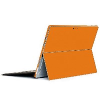 wraplus for Surface Pro / Pro 4 【オレンジ】 スキンシール 側面 背面 カバー フィルム 保護 ケース