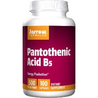 海外直送品 Jarrow Formulas Pantothenic Acid , 100 Caps