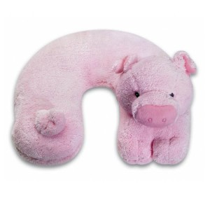 Ton Ton For Kids Travel Buddies Neck Pillow - Pig by Noodlehead