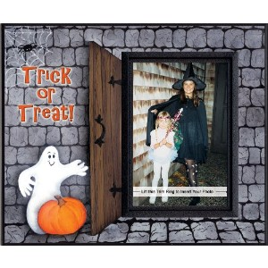 Trick or Treat Halloween Picture Frame Gift by Expressly Yours! Photo Expressions