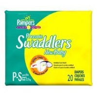 Pampers Swaddlers Preemie New Baby Diapers 20 ea by Pampers