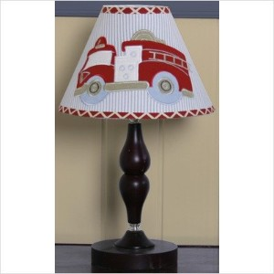 GEENNY Lamp Shade, Fire Truck by GEENNY