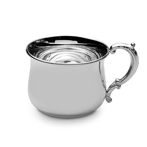 Empire Sterling Silver Bulged Baby Cup by Empire Silver