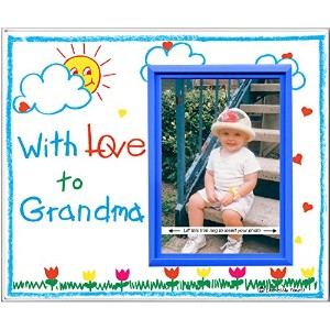 With Love to Grandma - Picture Frame Gift by Expressly Yours! Photo Expressions