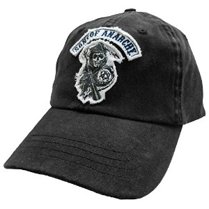 Sons of Anarchy HAT メンズ US サイズ: One Size Fits Most カラー: ブラック