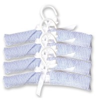Trend Lab Hangers, Blue Gingham Seersucker by Trend Lab