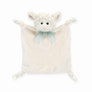 Bearington Baby Collection Wee Lamby Blankie