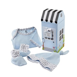 Baby Aspen Welcome Home Baby 3-Piece Layette Gift Set ベビー服 ギフトセット ブルー
