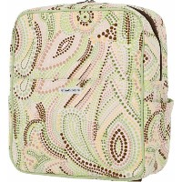 Bumble Bags Madeline Hanging Stroller Backpack Lemon-Lime Dot by Bumble Bags