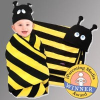 Beehave swaddle blanket and cap set Sozo Kids by Sozo Kids