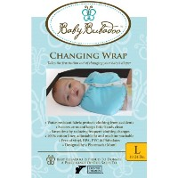 Baby Bubadoo's Diaper changing Wrap ~ Pink Size Large (19-24) lbs by Baby Bubadoo