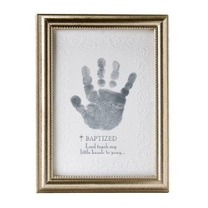 The Grandparent Gift Co. Photo Frame, Baptism Handprint by The Grandparent Gift (English Manual)