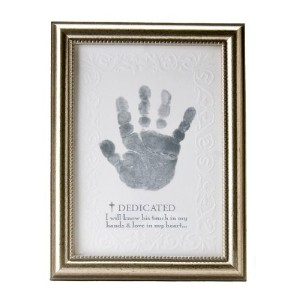 The Grandparent Gift Co. Growing in Faith Handprint Frame, Baby Dedication by The Grandparent Gift...