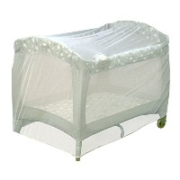 Pack N Play - Playpen Netting Fits Most Graco - Jeep - Kolcraft and More! by HIS Juvenile