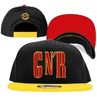 ガンズ・アンド・ローゼズ Guns N Roses GNR Logo New Era Adjustable 帽子 Hat Cap