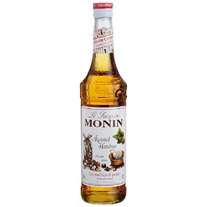 Monin - Roasted Hazelnut Noisette Grillée Syrup - 700ml