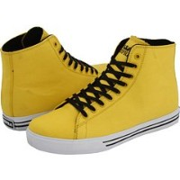 [スープラ]Supra Thunder Hightop (yellow canvas)サンダーHightop黄色(32CM)-US size:14
